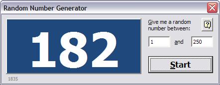 randomnumbergenerator